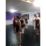 preço da aula de ballet russo Parque do Otero